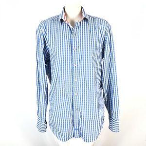 Robert Graham plaid shirt